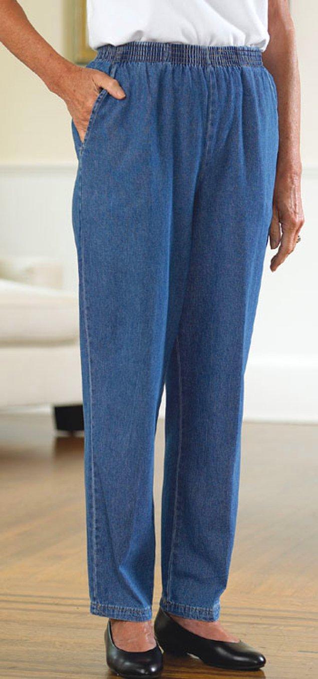 21. Beli fazla rahat pantolonlar giymeyi tercih etmek.