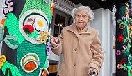 Dünyanın En Yaşlı Sokak Sanatçısı: Örgü Çetesi Üyesi 104 Yaşındaki Grace Brett