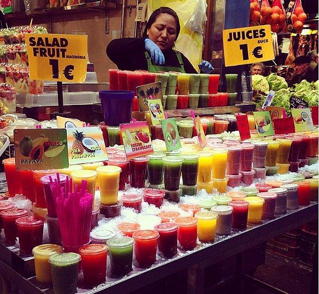 15. Oldukça ucuz ve çok çeşit barındıran marketlerinden çıkmak istemeyebilirsiniz.