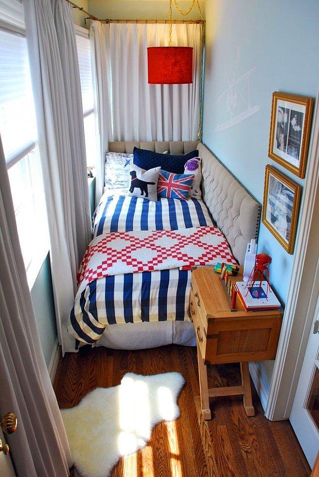 8. Geniş bir balkonunuz varsa onu artık odanız yapabilirsiniz.