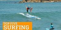 Бесстрашные мастера серфинга