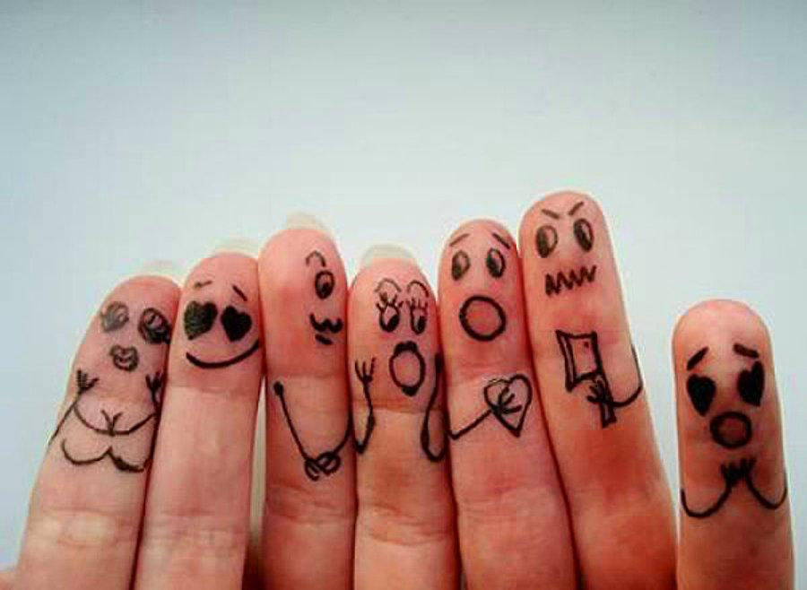 Сделать, картинки прикольные пальцы