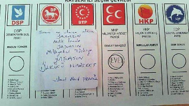 15:20 | Kayseri'de oylarının fotoğrafını çeken 3 kişi yakalandı