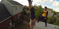 Когда прыжки на батуте переходят на новый уровень