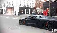Неудачно врезаться в Lamborghini