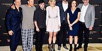 Вуди Харрельсон появился на фотосессии «Голодных игр» в пижаме