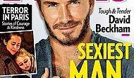 Дэвид Бекхэм - самый сексуальный мужчина этого года