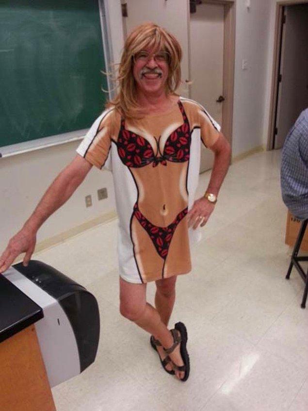 20. Ne öğretmeni olduğunu merak ettiğimiz bu öğretmen.