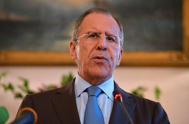 Rusya Dışişleri Bakanı Sergey Lavrov Türkiye ziyaretini iptal etti
