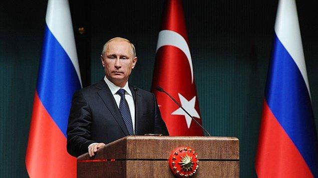 """24. Buna karşılık """"Biz de doğalgaz almayız"""" diyemiyoruz çünkü Türkiye ile Rusya arasındaki doğal gaz anlaşması, uzun vadeli ve """"al ya da öde"""" kuralını içeriyor."""