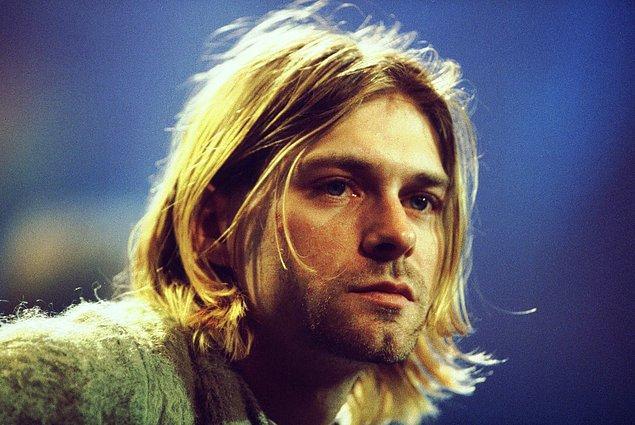 16. Dünya berbat bir yer ve insanIar dürüst değiI: Kurt Cobain