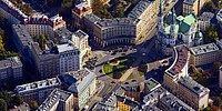 Фотографии Варшавы, впервые сделанные с высоты птичьего полета