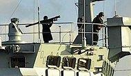Rus Gemisi Boğaz'dan Geçerken Füze Gösterdi