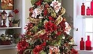 Потрясающие рождественские елки, украшенные цветами