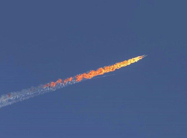 Türkiye SU-24 savaş uçağını düşürdü! Şimdi ne yapacaksın?