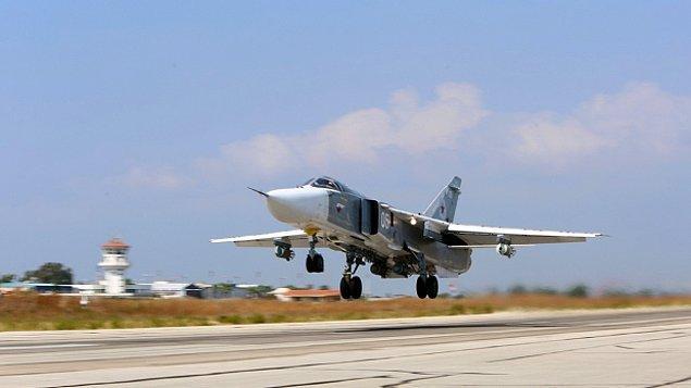 Rus SU-24 M jetleri Ankara semalarında :(