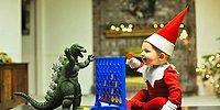 Отец 6-х детей превратил своего малыша-сына в рождественского эльфа