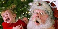 Замедленная съемка реакции детишек на Санта Клауса 😂