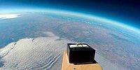 Чтобы сделать предложение любимой, он отправил кольцо в космос!