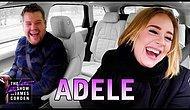 Адель спела несколько хитов в автомобиле с Джеймсом Корденом