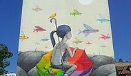 Красочный стрит-арт от французского художника