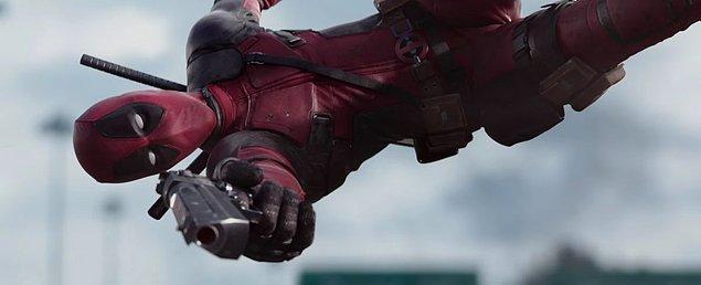 1. Deadpool bu yıl vizyona girecek 7 filmden ilki.