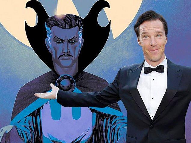 7. Marvel'ın Doctor Strange filminde Benedict Cumberbatch'i göreceğiz. 4 Kasım'da vizyona girecek olan bu film o kadar farklı ki yapımcılar en başta çekemeyiz bile demişler.