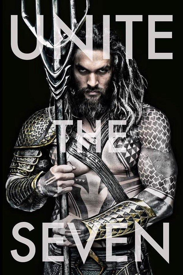 17. Game of Thrones'un Khal Drogo'su Jason Momoa, Aquaman filmiyle 2018 Temmuz ayında vizyonda olacak.