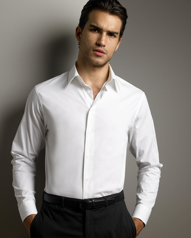 95381ba3ecd Белая рубашка должна быть в гардеробе любого мужчины. Выбор подходящей  белой рубашки мероприятие сложное