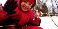 Жизнь в другой стране: сирийские дети в восторге от снежной Канады