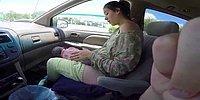 Женщина родила ребенка прямо в автомобиле!