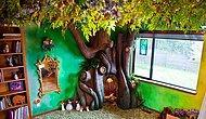 18 месяцев на детскую мечту: любящий отец создал сказочное дерево для своей принцессы