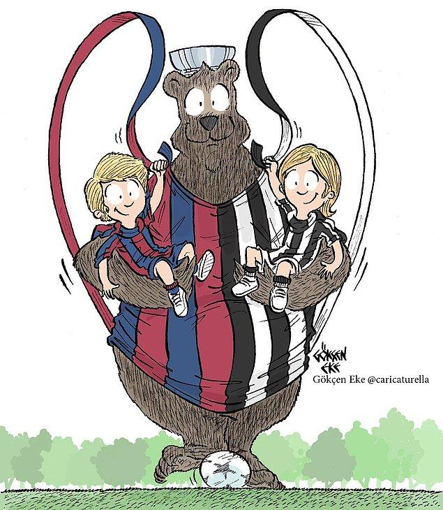 14. Çok büyük kupa - UEFA Champions League