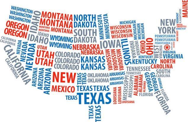 15. İngilizce ABD'nin resmi dili değildir. ABD'nin aslında resmen bir dili yoktur.