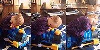 Машинист сильно устал!