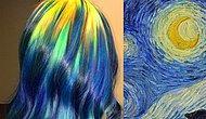 Новый тренд – волосы, как полотна известных мастеров