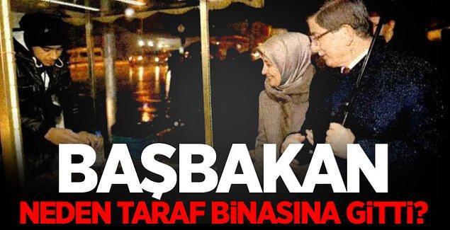 Geçtiğimiz günlerde Başbakan Ahmet Davutoğlu Taraf Gazetesi ile aynı şirket bünyesinde bulunan Alkım Kitabevi'ne uğramıştı