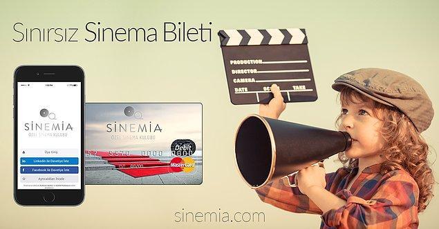 Sinemaseverler ilaç gibi gelecek bir şey biliyoruz: Sinemia! Sinemia'da 30 sinema bileti 2 sinema bileti fiyatında, vaoov 0_o