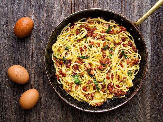 1. Spagetti Carbonara
