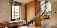 Мечты сбываются: сделать квартиру уютной и соединить 2 этажа горкой - реально!