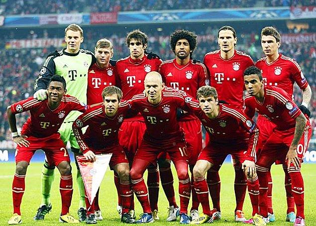 En Çok Bayern Yaklaşabildi