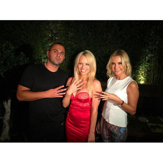 14. Pamela Anderson ve Ece Erken