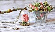 Обворожительные подвески с цветочными бутонами