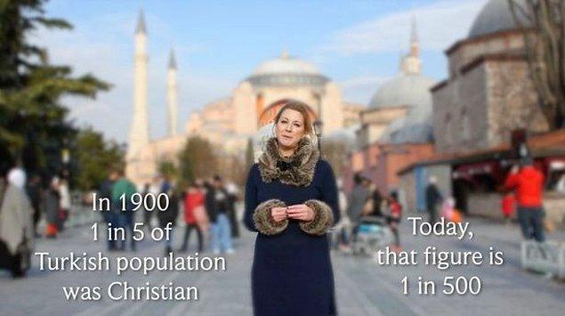 Hristiyanların sayısının giderek azalması