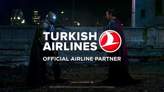 Ve 50.si düzenlenen Super Bowl'a reklam veren markaların bir numarası Türk Hava yolları oldu.
