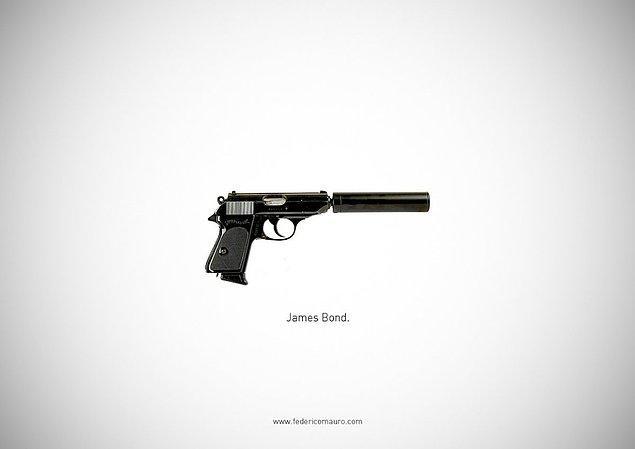 3. 007 - James Bond