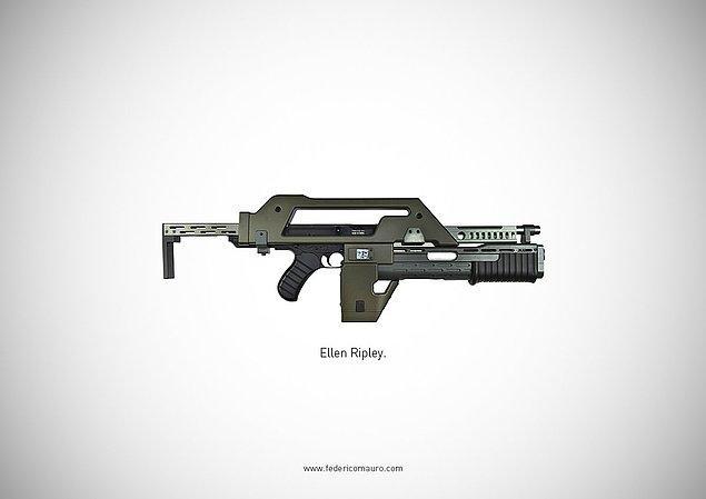 8. Aliens - Ellen Ripley