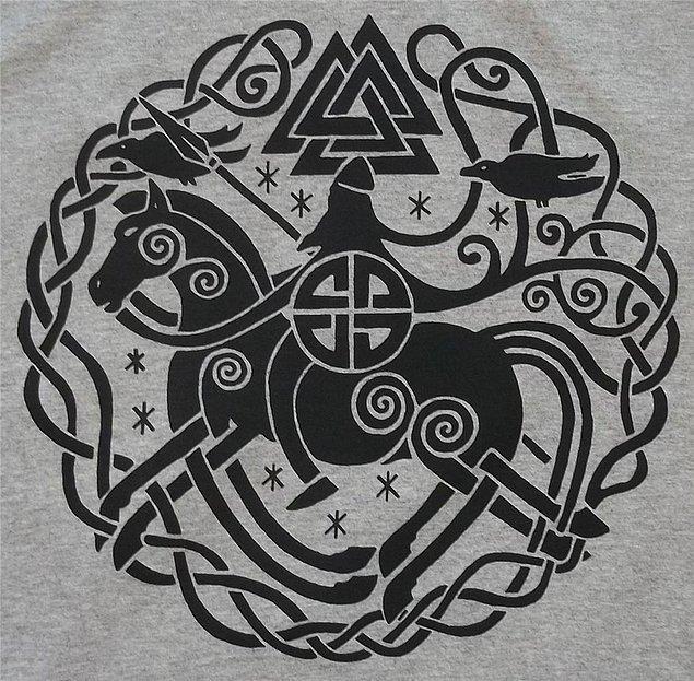 İsimlerini aldıkları Odin aslında İskandinav mitolojisinin en büyük tanrısı.