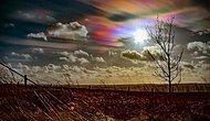 Радужные облака в небе Великобритании
