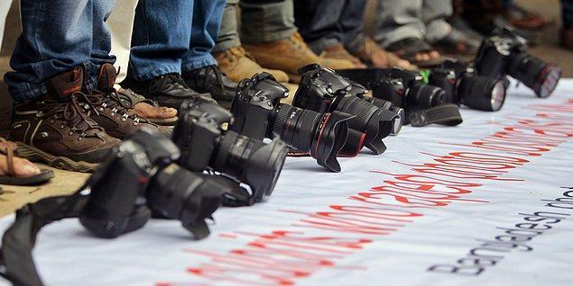 'Darbeyi güçlendiren yasalar nedeniyle basın bugün hür değil'